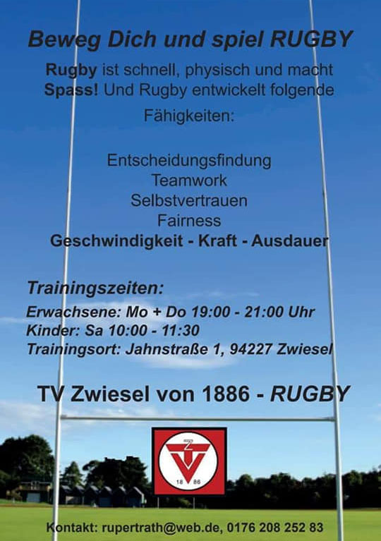 rugby training